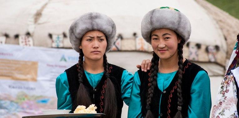 Kyrgyzstan woman